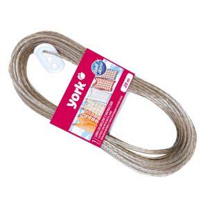 Washing line with metal core York