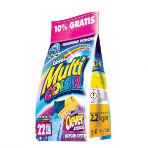 Լվացքի փոշի Multicolor գունավոր գործվածքի 2.2 կգ