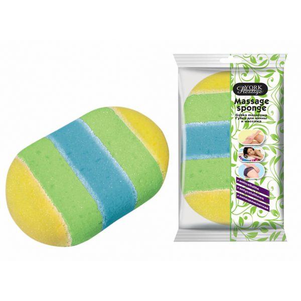 Massage sponge York Prestige 1 pc