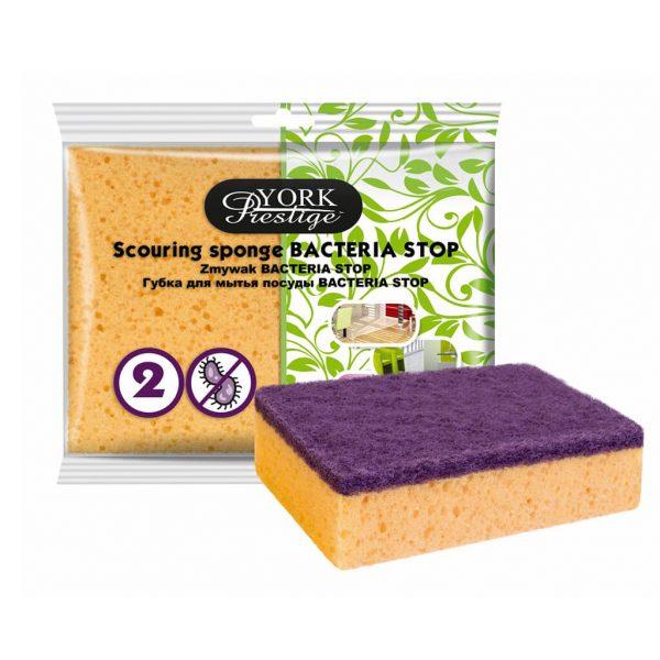 Scouring sponge York Prestige Bacteria Stop 2 pcs