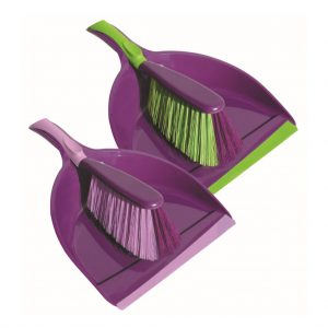 Broom with dustpan York Prestige