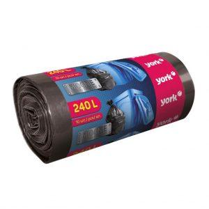 Աղբի տոպրակ ամուր York 240 լ 10 հատ