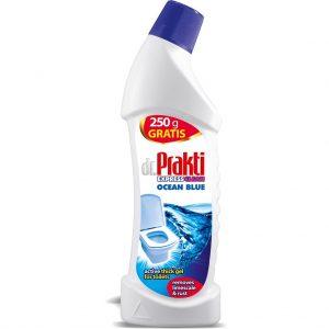 Զուգարանակոնք մաքրող միջոց dr. Prakti Express Clean Կապույտ օվկիանոս 750 մլ