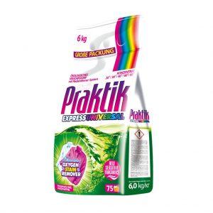 Ունիվերսալ լվացքի փոշի Praktik Express Universal 6 կգ
