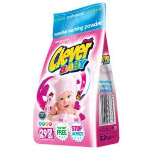 Լվացքի փոշի Clever Baby 2.2 կգ