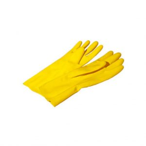 Rubber gloves York size L 1 pair