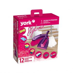 Cleaning set York Style 12 pcs