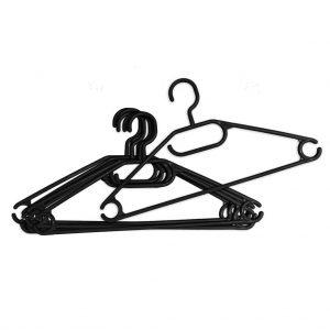 Plastic hanger with turning hook York 9+1 pcs