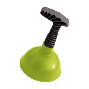 Plunger with plastic holder York