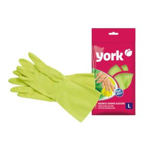 Rubber gloves York Aloe Vera size L 1 pair