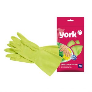 Rubber gloves York Aloe Vera size M 1 pair