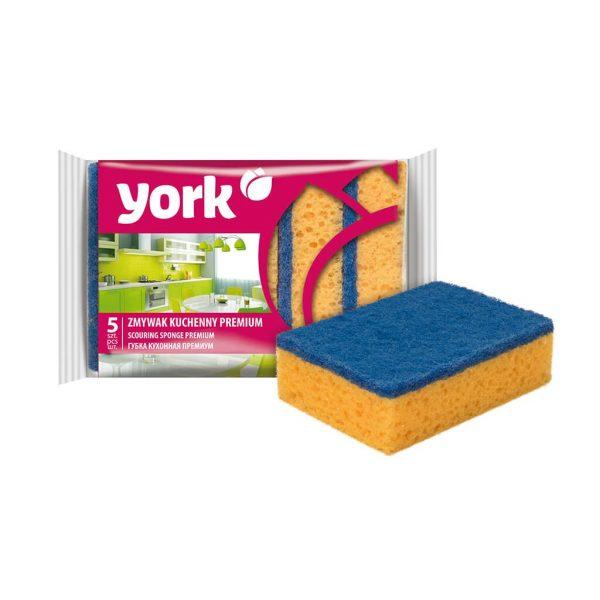 Scouring sponge York Premium 5 pcs