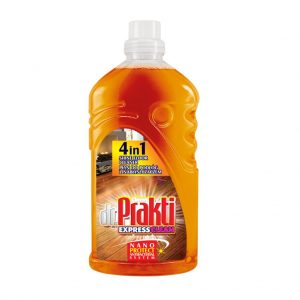 Փայտե հատակ մաքրող միջոց dr.Prakti 4-ը 1-ում 1լ