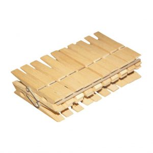 Clothes pegs wooden York 20 pcs